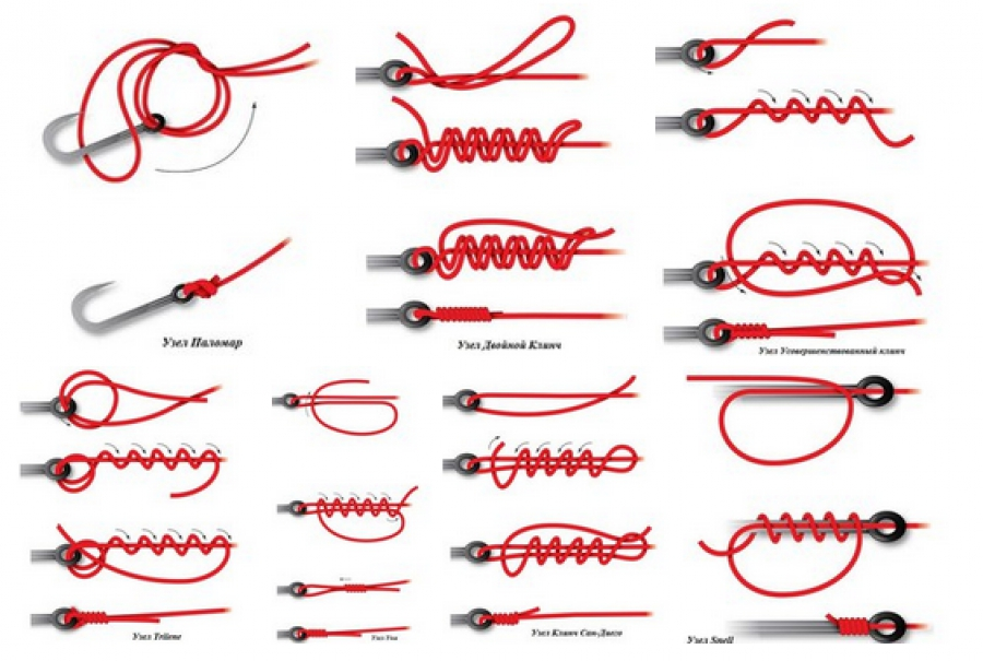 Способы вязания рыбацких узлов 59